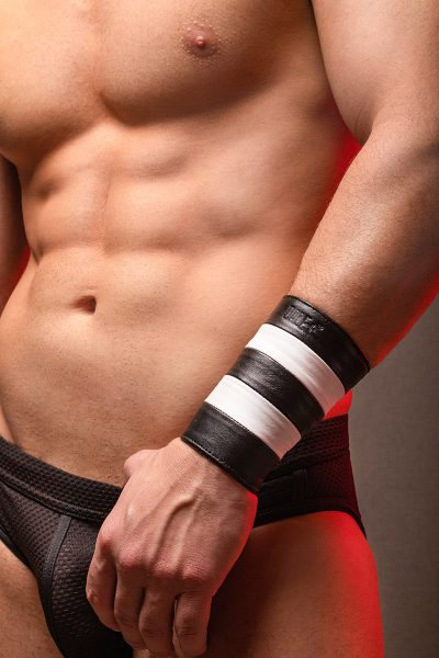 LEATHER BAND HORNY DUDE 2 FRANJAS
